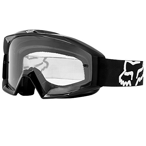 Fox Racing Main Adult Moto Motorcycle Goggles Eyewear - Black / One Size