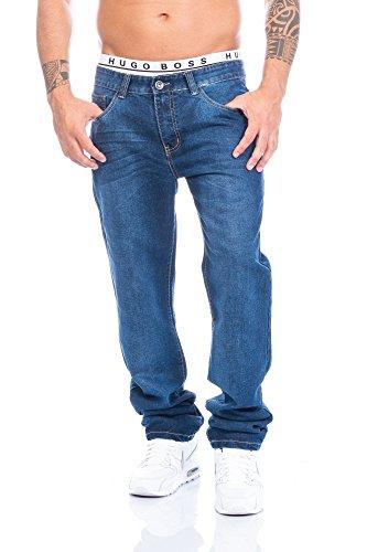 Herren Jeans Hose Straight Fit ID410, Größe:W34/L34