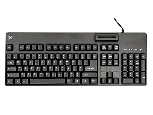 SMK-Link TAA Compliant USB Computer Keyboard with Smart Card Reader (VP3800) ()