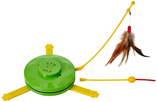 CA&T 2-in-1 Flying Feather and Hiding Mouse Game