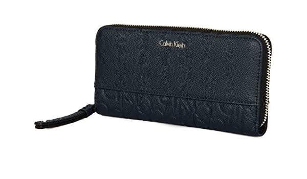 Calvin Klein Misha Ziparound Monedero 19 cm: Amazon.es: Equipaje