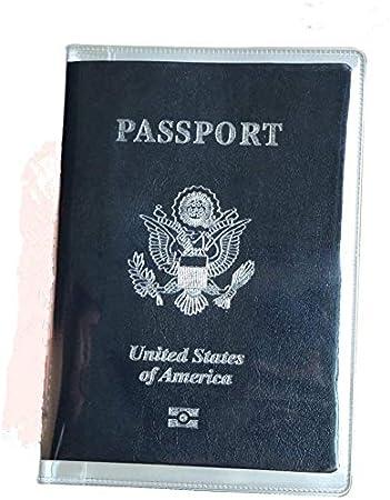 5 paquetes de plástico transparente para pasaporte de plástico transparente para pasaporte de Reino Unido y EE. UU.: Amazon.es: Equipaje
