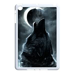 Personalized New Print Case for Ipad Mini, Wolf and Moon Phone Case - HL-R664596