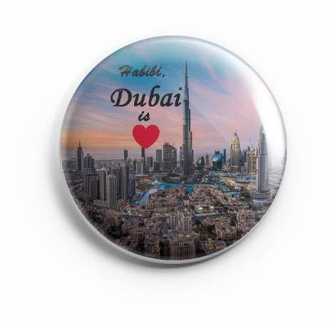 AVI Dubai is Love MR8002055 Regular Size Fridge Magnet 58mm