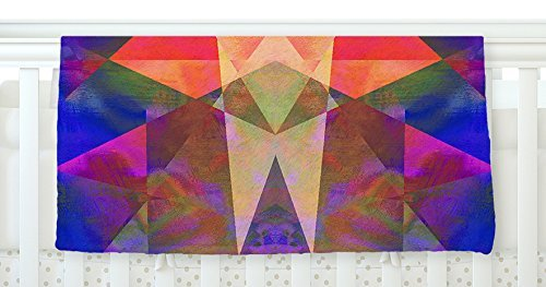 KESS InHouse Nina May Irridesco Fleece Baby Blanket 40 x 30 [並行輸入品]   B077ZP7Z4N