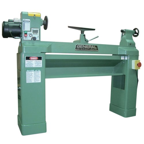 General International 25-650ABC M1 2 hp Variable Electronic Speed Lathe, 16 x 42'' by General International