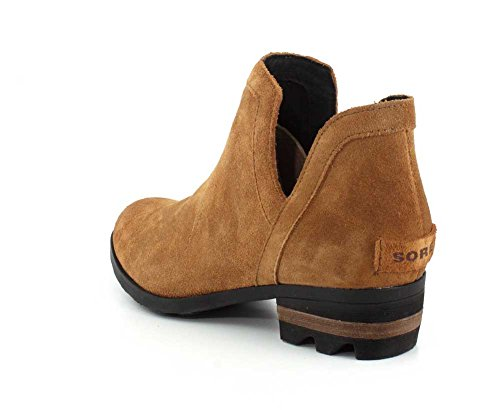 SOREL B Bootie Lolla Women's Brown Out 7 Camel Black Cut M US rczrHq
