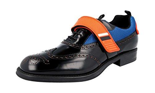 Prada Mens 2EG213 Eft F0UCU Full Brogue Leather Business Shoes