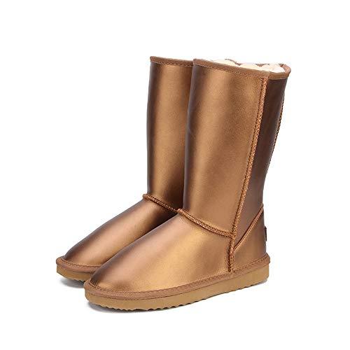 Cuir Imperméables Neige or De Femmes Antidérapant Classique Boots En Bottes Bottine Ubeauty qxIwzP7q