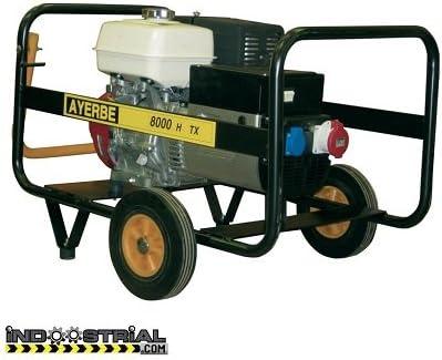 Ayerbe AY-8000-H-TX Generador, 6400W: Amazon.es: Industria ...