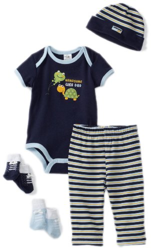 Baby Essentials Baby-boys Newborn Handsome Like Dad Layette Set