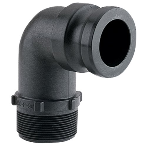 2'' 90° Male Adapter x Male Thread by Banjo Corp (Image #1)