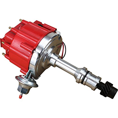 (Dragon Fire High Performance Race Series Complete HEI Electronic Ignition Distributor Compatible Replacement For Oldsmobile 260 307 330 350 403 425 455 Oem Fit DO8-DF )