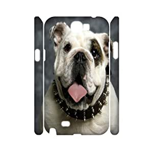 C-Y-F-CASE DIY Cute Dog Pattern Phone Case For Samsung Galaxy Note 2 N7100