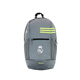 adidas Real Madrid Clima BP - Mochila, color gris / lima