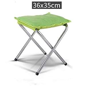 Amazon.com: MDBLYJDeck - Taburete plegable grueso para silla ...