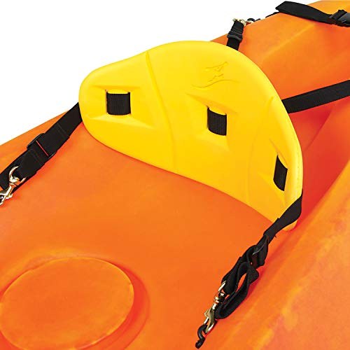 Ocean Kayak Comfort Backrest Yellow, Regular