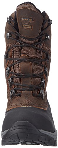 Kamik Patriot5 Mens Warm Fed Snow Boots Brown (brn_ Brown)