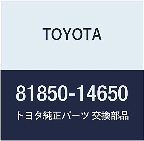 Toyota 81850-14650 Heater Control Bulb