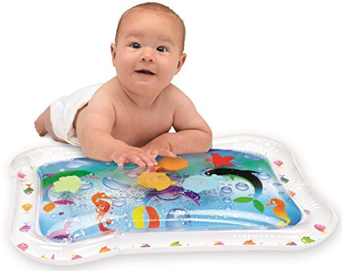 Filled Center - Kleeger Inflatable Baby Water Mat: Fun Activity Play Center. For Children And Infants