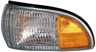 - TYC 18-1989-01 Chevrolet Driver Side Replacement Side Marker Lamp with Corner Lamp