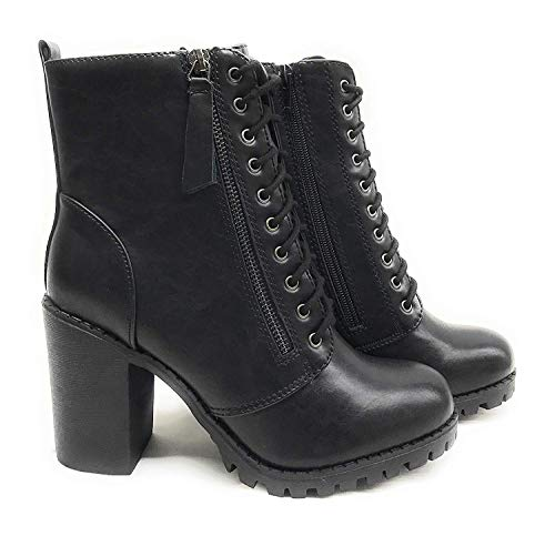 soda black ankle boots - 6