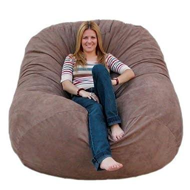 Cozy Sack 6-Feet Bean Bag Chair, Large, Earth