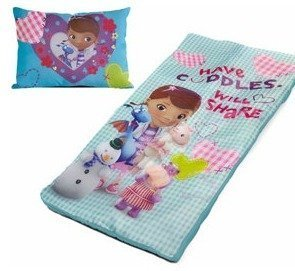 Doc Mcstuffins Bag (Disney Doc McStuffins Slumber Set - Pillow and Sleeping)