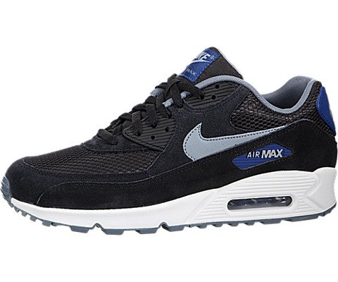 on sale 5fc14 85568 Nike Air Max 90 Essential - Black   Gym Blue-Blue Graphite-Dove Grey, 7.5 D  US - Buy Online in UAE.   Apparel Products in the UAE - See Prices, ...