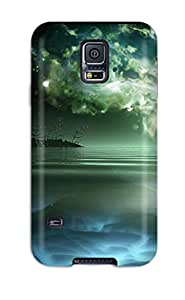 ANKrGQG1256qMdLO Case Cover Protector For Galaxy S5 Digital Art Case