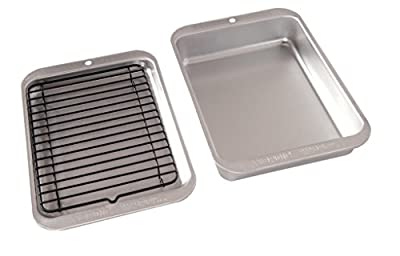 Nordic Ware 43290 3-Piece Broil and Bake Set