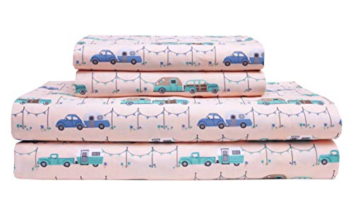 Elite Home Microfiber 90 GSM Whimsical Printed Sheet Set (Is Microfiber 90 Gsm What)