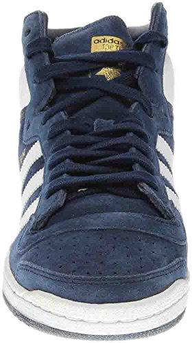 Adidas Originalals Heren Top Tien Hi Basketbalschoen Collegiaal Marine / Wit / Collegiaal Marine
