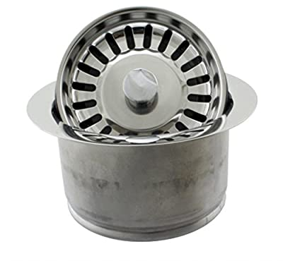 Westbrass D2082S Extra Deep ISE Disposal Flange and Strainer