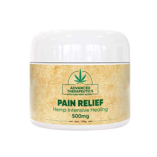 500MG 4 Ounce Hemp Cream for Fast Pain Relief Double The Size and Power of All Other Arnica Cream Infused with 500 MG of Hemp Oil for Pain Relief of Knee Pain, Back Pain,Neuropathy