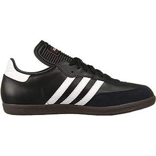 adidas Performance Men's SAMBA CLASSIC Athletic Shoe, black/white, 12 M US