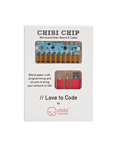 Chibitronics Love to Code - Chibi Chip with Cable