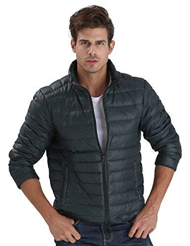 CHICK Packable Jacket Blackish Green Puffer Nylon Down Men's CHERRY gSqpdww