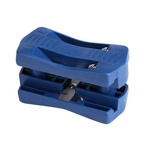 (Edge Banding Trimmer, Mini Plastic PVC Plywood Melamine Wood Edge Band Cutter, Manual Trimming Woodworking)