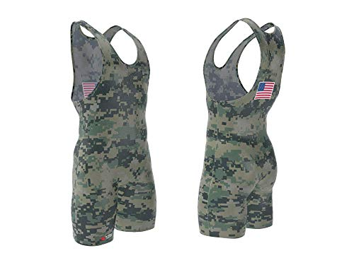 4-Time All American Digital MARPAT Camo Singlet Size 3XL