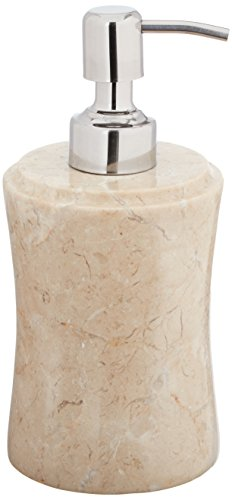 EVCO International 74585 Champagne Marble Fenway Liquid Soap Dispenser