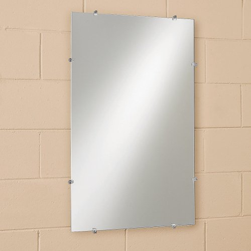 Frameless Mirror, 12x18 - Wide Frameless 18 Mirrors Bathroom