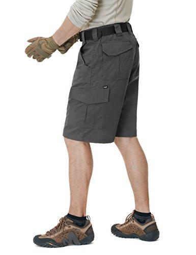 CQR CQ-TSP202-CHC_40 Men's Tactical Lightweight Utiliy EDC Cargo Work Uniform Shorts TSP202