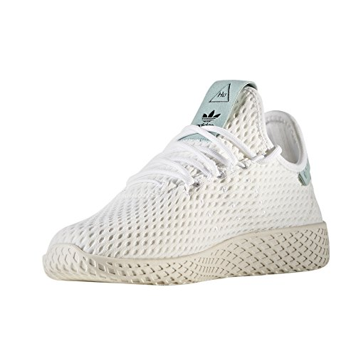 Adidas Origina Pw Tennis Hu Sneaker Unisex Pharrell Williams Liquido / Bianco