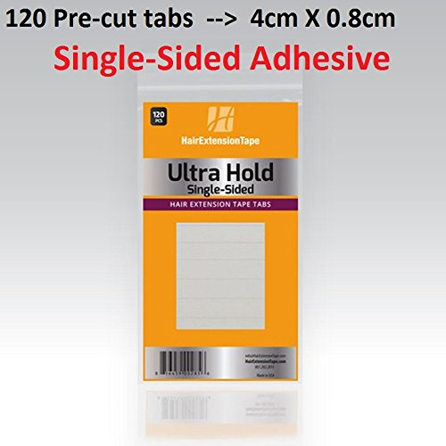 Ultra Hold SINGLE-SIDED Extension Tape tabs 120-pcs per pack by Ultra Hold Single Side adhesive