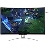 "AOC Agon AG322FCX Monitor Gamer LED 31.5"", Preto"