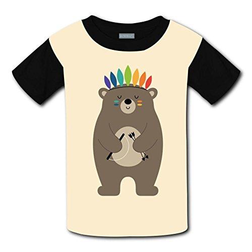 Yangjio T-Shirt Don'T Give Up Bear Costume Xs Short Sleeve For Children -
