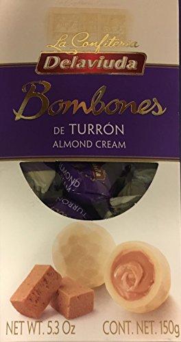 Delaviuda Box Of Almond Cream Bonbons - 5.3Oz (150g) - Bombones De Turron - Product Of Spain by Delaviuda