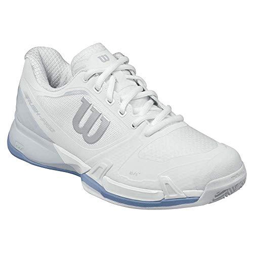 Donna Pro Da Rush Scarpe Bianco Clay Tennis Stonewash W Pearl 000 white Wilson Blue 2 5 qzqB5