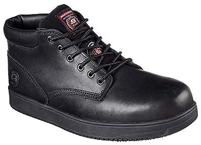 Skechers Men's Work Ossun Amokine Steel Toe Boot 77127